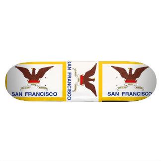 San Francisco California Skate Board Deck