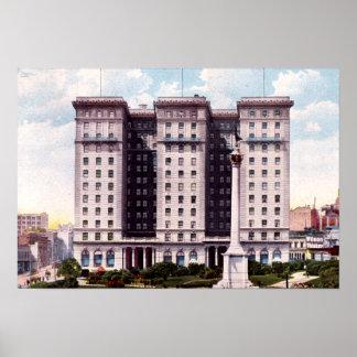 San Francisco California St. Francis Hotel Print