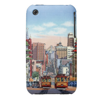 San Francisco California Street cars iPhone 3 Case-Mate Cases