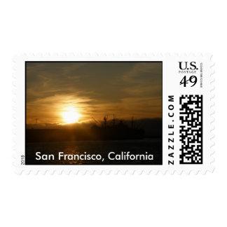 San Francisco, California Sunset Postage