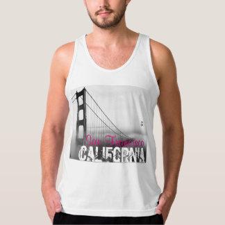 San Francisco California Tank Top