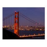San Francisco, California Tarjeta Postal