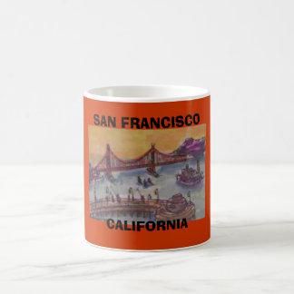 SAN FRANCISCO CALIFORNIA TAZAS DE CAFÉ