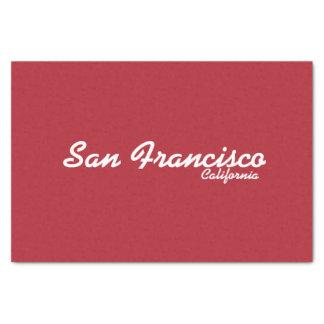 "San Francisco, California Tissue Paper 10"" X 15"" Tissue Paper"