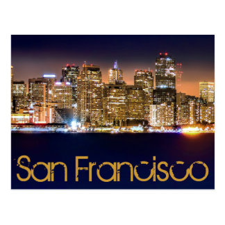 SAN FRANCISCO, CALIFORNIA, U.S.A. POSTCARD