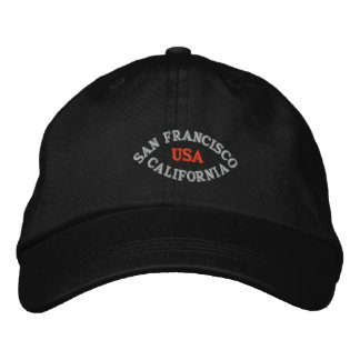 SAN FRANCISCO CALIFORNIA, USA EMBROIDERED BASEBALL HAT