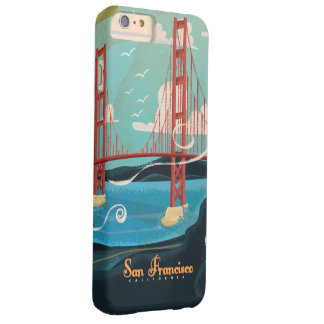 San Francisco California USA Travel poster Barely There iPhone 6 Plus Case