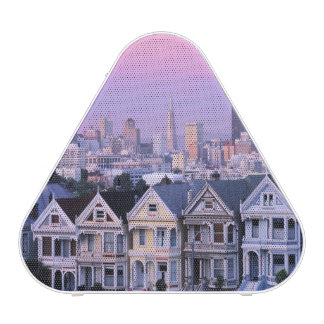 San Francisco, California. View of Victorian Bluetooth Speaker