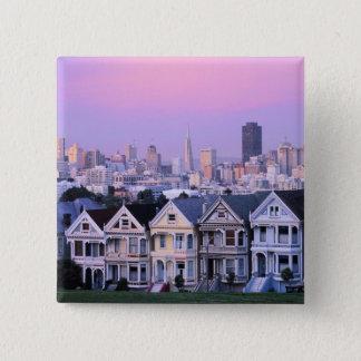 San Francisco, California. View of Victorian Button