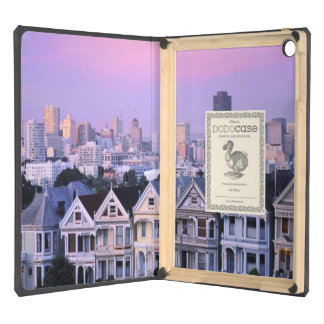 San Francisco, California. View of Victorian Cover For iPad Air
