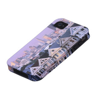 San Francisco, California. View of Victorian Vibe iPhone 4 Cases