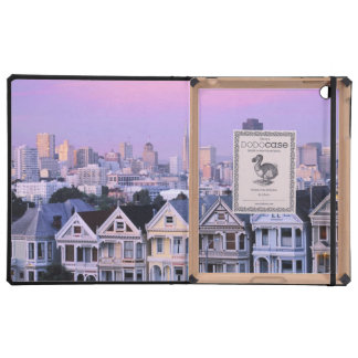 San Francisco, California. View of Victorian Case For iPad