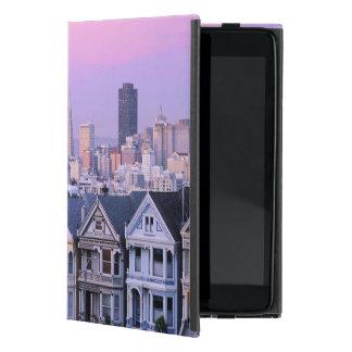 San Francisco, California. View of Victorian Case For iPad Mini
