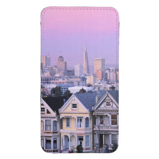 San Francisco, California. View of Victorian Galaxy S4 Pouch