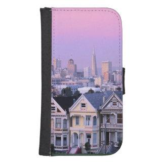 San Francisco, California. View of Victorian Galaxy S4 Wallet Case