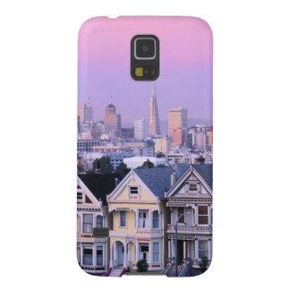 San Francisco, California. View of Victorian Galaxy S5 Cases