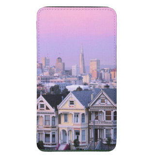 San Francisco, California. View of Victorian Galaxy S5 Pouch