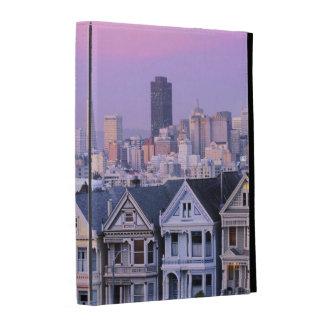 San Francisco, California. View of Victorian iPad Folio Covers