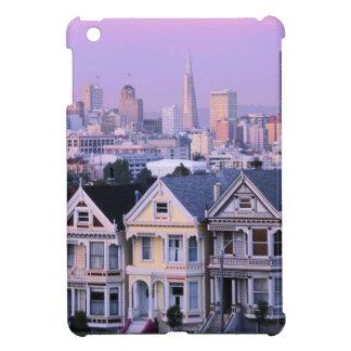 San Francisco, California. View of Victorian Case For The iPad Mini