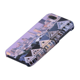 San Francisco, California. View of Victorian Covers For iPhone 5