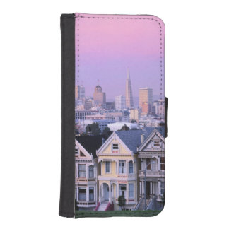 San Francisco, California. View of Victorian iPhone SE/5/5s Wallet