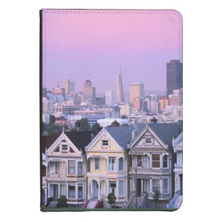 San Francisco, California. View of Victorian Kindle Case