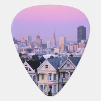 San Francisco, California. View of Victorian Pick