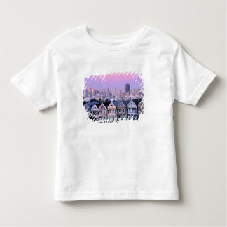San Francisco, California. View of Victorian Toddler T-shirt