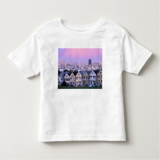 San Francisco, California. View of Victorian Toddler T-shirt