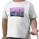 San Francisco, California. View of Victorian Tshirt