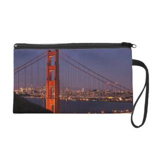 San Francisco, California Wristlet Purse