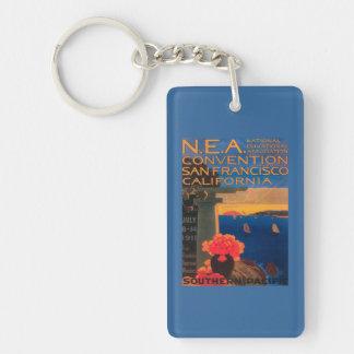 San Francisco, CaliforniaN.E.A. Convention Keychain