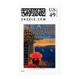 San Francisco, CaliforniaN.E.A. Convention Postage Stamps
