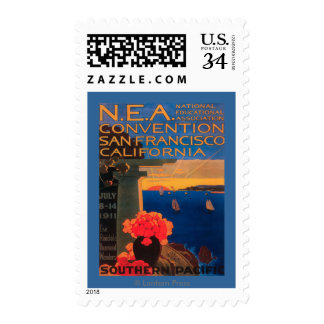 San Francisco, CaliforniaN.E.A. Convention Postage Stamp