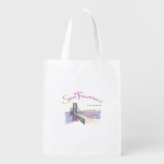 San Francisco, Callifornia Reusable Grocery Bag