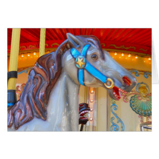 San Francisco Carousel at Pier 39 Notecard 2 Stationery Note Card
