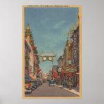 San Francisco, CAStreet Scene of Chinatown Print
