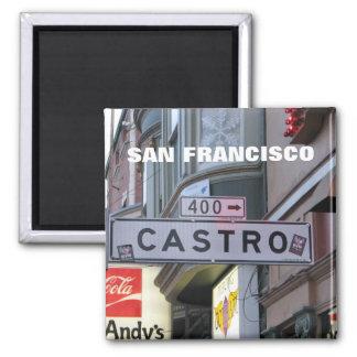 San Francisco - Castro Magnet! 2 Inch Square Magnet