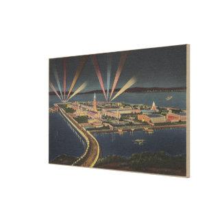 San Francisco, CATreasure Island at Intl Expo Canvas Print