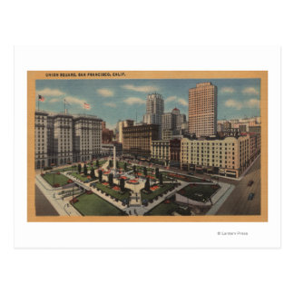 San Francisco, CAUnion Square View Postcard