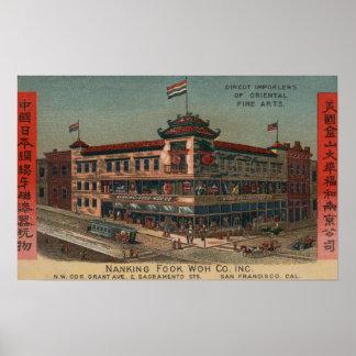 San Francisco, CAView de Nanking Fook Co. Posters