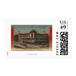 San Francisco, CAView of Nanking Fook Co. Postage