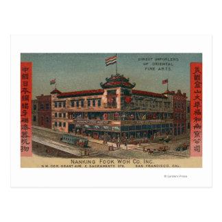 San Francisco, CAView of Nanking Fook Co. Postcard