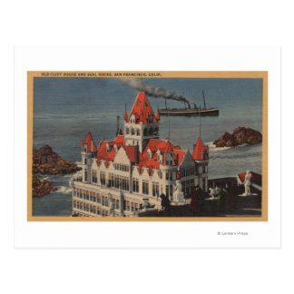 San Francisco, CAView of Old Cliff House Postcard