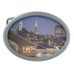 San Francisco cena Hebillas Cinturón Ovales