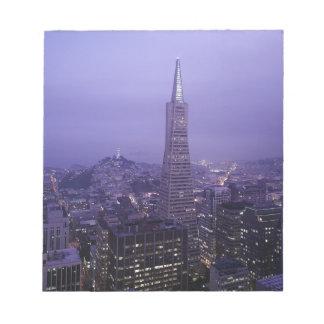 San Francisco céntrico Bloc De Papel