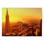 San Francisco céntrico, CA Felicitacion