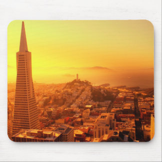 San Francisco céntrico CA Tapete De Ratones