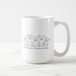 San Francisco Chihuahua Meetup Coffee Mug