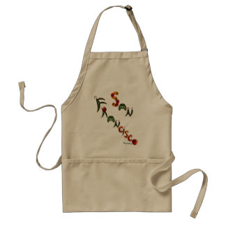 San Francisco Chili Peppers Adult Apron